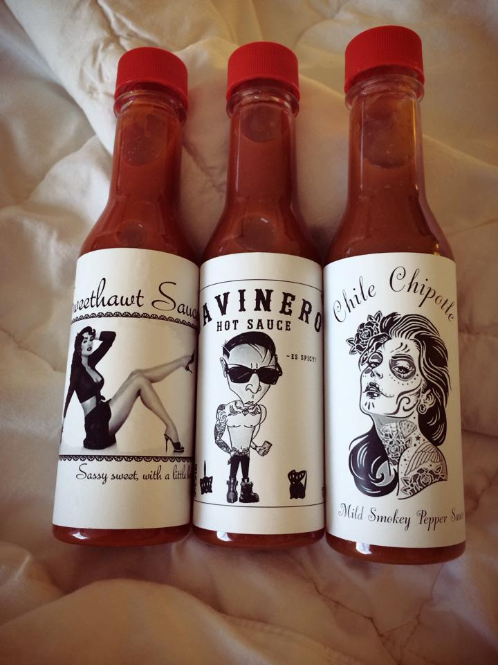 New Sauce Labels